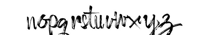 Octopus Font Font LOWERCASE