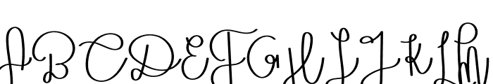 Octopus Font UPPERCASE