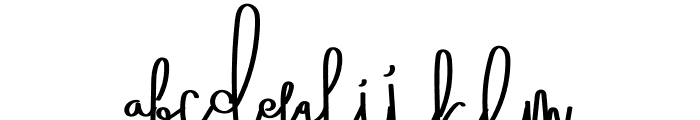 Octopus Font LOWERCASE