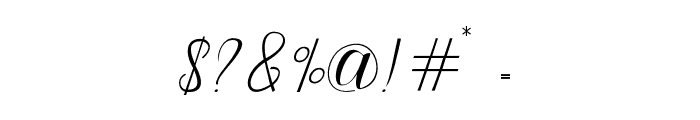 Odelina Font OTHER CHARS