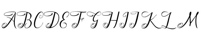 Odelina Font UPPERCASE