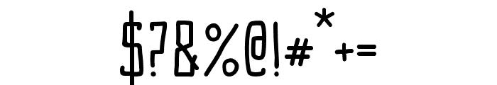 OggleflimmXSRegular Font OTHER CHARS
