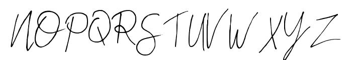 Oh Monkey Regular Font UPPERCASE
