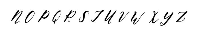 Oh Savannah Regular Font UPPERCASE