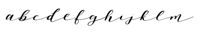 Oh Savannah Regular Font LOWERCASE