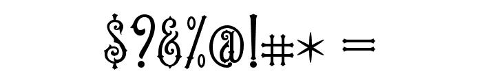 OldFinlander Font OTHER CHARS