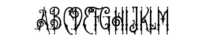 OldFinlander Font UPPERCASE