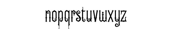 OldFinlander Font LOWERCASE