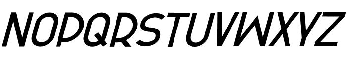 Olinad Bold Italic Font UPPERCASE