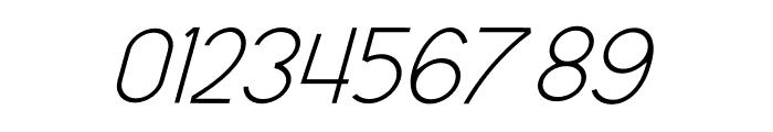 Olinad Italic Font OTHER CHARS