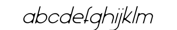 Olinad Italic Font LOWERCASE