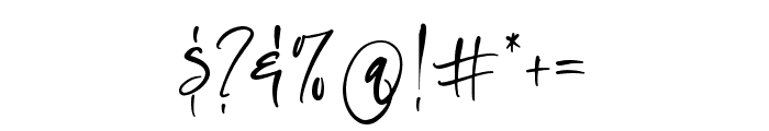 Oliver Notes Font OTHER CHARS