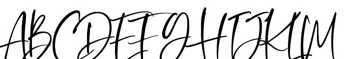 Oliver Notes Font UPPERCASE