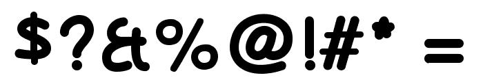 OlivessansPimientoIntlBold Font OTHER CHARS
