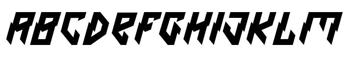 Omen Font UPPERCASE