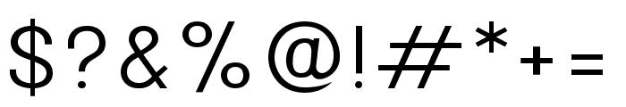 Onix Light Font OTHER CHARS