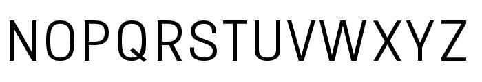 Onix Light Font UPPERCASE