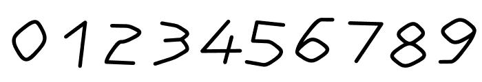 Order regular Font OTHER CHARS