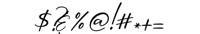 OriflameScriptAlt Font OTHER CHARS
