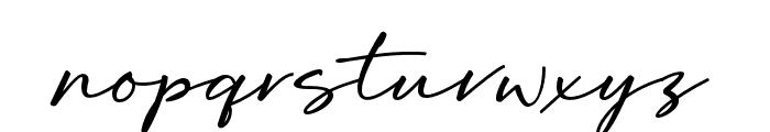 OriflameScriptAlt Font LOWERCASE