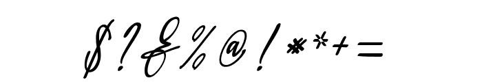 Orleons Font OTHER CHARS
