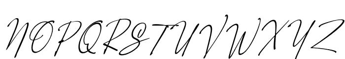Orleons Font UPPERCASE