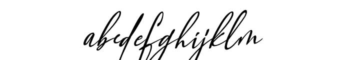 Orleons Font LOWERCASE