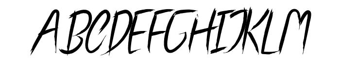 Oscar Wright Font UPPERCASE