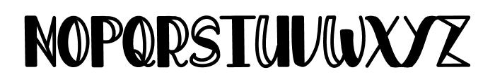 Oscarina Font UPPERCASE