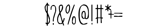 Our Grasp Font OTHER CHARS