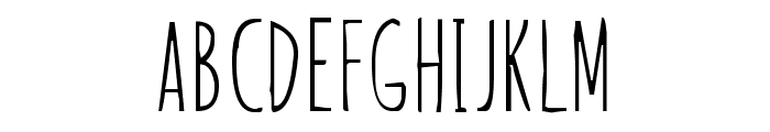 Our Grasp Font LOWERCASE