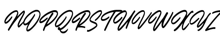 Outlander Slant Font UPPERCASE