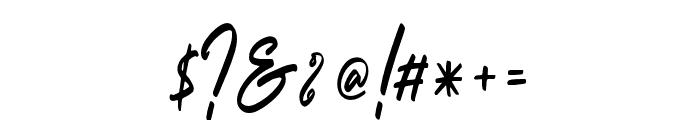 Outlander Font OTHER CHARS