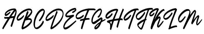 Outlander Font UPPERCASE