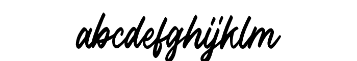 Outlander Font LOWERCASE