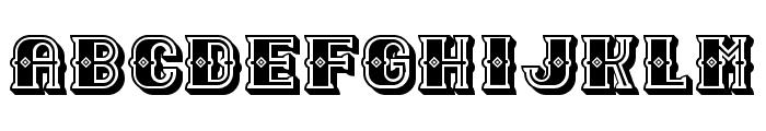 Outlaw Black Regular Font UPPERCASE