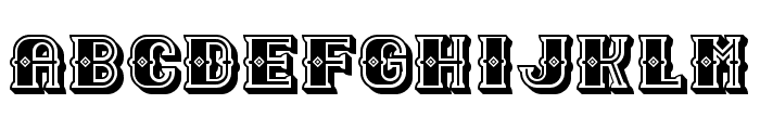 Outlaw Black Regular Font LOWERCASE