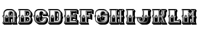Outlaw Light Regular Font UPPERCASE