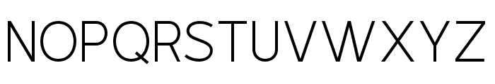 Outside Collection Sans Regular Font LOWERCASE
