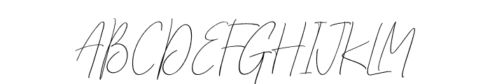 Outside Collection Script Two Regular Font UPPERCASE