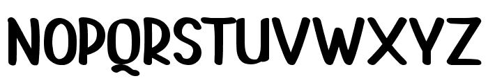 PAINTLOVA V2 Regular Font UPPERCASE