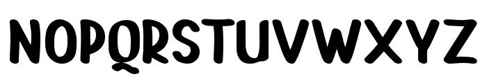 PAINTLOVA V2 Regular Font LOWERCASE