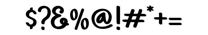 PAINTLOVAV1-Regular Font OTHER CHARS