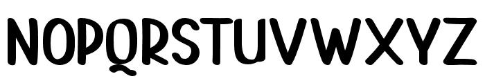 PAINTLOVAV1-Regular Font UPPERCASE