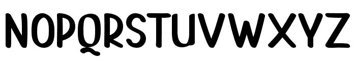 PAINTLOVAV2-Regular Font UPPERCASE