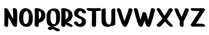 PAINTLOVAV2-Regular Font LOWERCASE