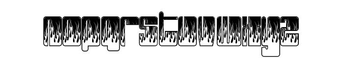 PHUTUREphlames Font UPPERCASE