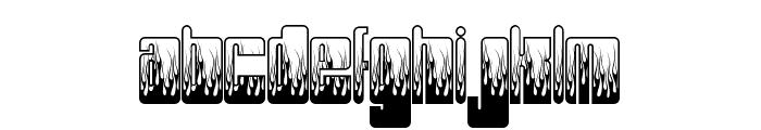 PHUTUREphlames Font LOWERCASE