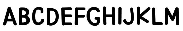 PNAlphabetSoup Font UPPERCASE
