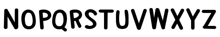 PNAlphabetSoup Font LOWERCASE